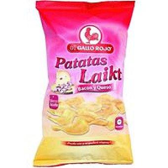 EL GALLO ROJO Patatas Laikt con bacón bolsa 140 g