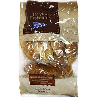 Hipercor mini croissants artesanos envasados individualmente bolsa 300 g 10 unidades
