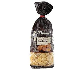 Auchan Farfalles, pasta de sémola de trigo duro de calidad superior al huevo 250 gramos