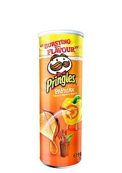 Pringles Snacks patata paprika 165 Gramos