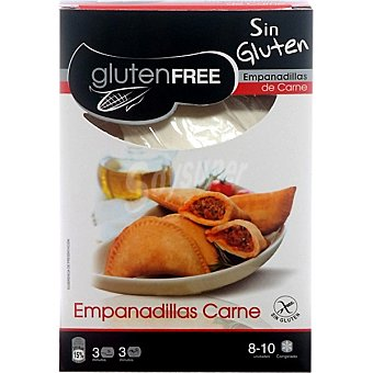 GLUTENFREE Empanadillas de carne sin gluten envase 300 g 8 unidades