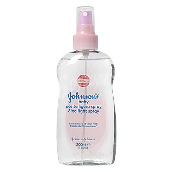 Johnson's Baby Aceite bebé ligero Spray de 200 ml