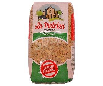 LA PEDRIZA Lenteja castellana bolsa 1 kg