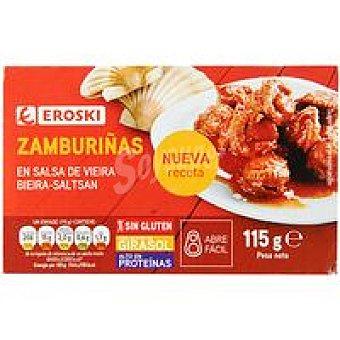Eroski Zamburiña en salsa de vieira Lata 115 g