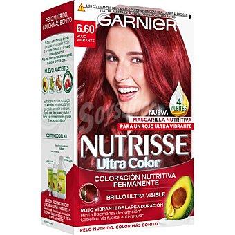 Nutrisse Garnier Tinte Rojo Vibrante Nº 6.60 Caja 1 ud