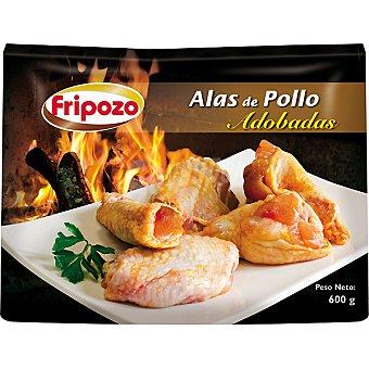 Fripozo alas de pollo adobadas  estuche 600 g