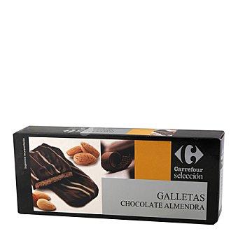 Carrefour Selección Galleta de almendra y recubierta de chocolate 100 g