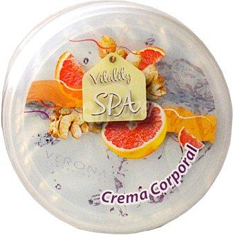 Verona crema corporal de Pomelo y Jengibre tarro 250 ml