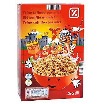 DIA Cereales de trigo inflado con miel Paquete 500 gr