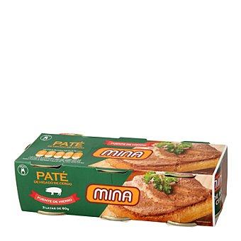 Mina Paté Pack 3x80 g