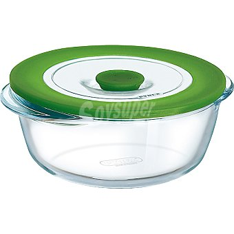 PYREX 4 in 1 Plus recipiente redondo con tapa serie 20 cm