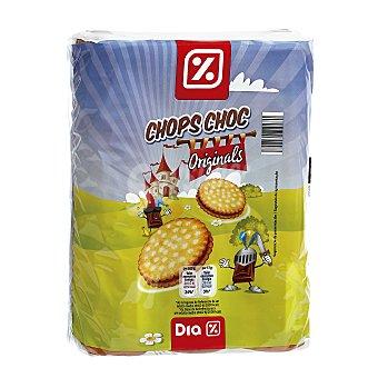 DIA Galleta rellena de chocolate Pack 3 x 250 g