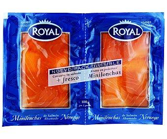 Royal Pescados Duo Salmón Pack de 2x50 g