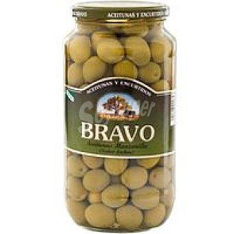 Bravo Aceitunas sabor manzanilla galón Tarro 550 g
