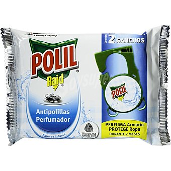 Polil Raid Gancho antipolillas colonia 2 unidades