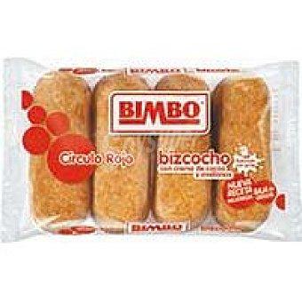 Bimbo Pastelito Círculo Rojo 4 unid