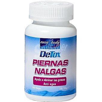 EASY BODY Detox Piernas Nalgas ayuda a eliminar las grasas envase 90 capsulas