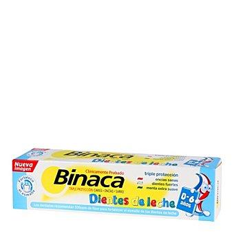 """Binaca Pasta de dientes infantil """" Dientes de Leche """" 50 ml"""