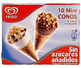 Frigo Mini conos de vainilla y chocolate sin azúcares añadidos 280 mililitros