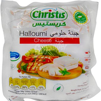 CHRISTIS Charalambides Holloumi queso de importación pieza 250 g 250 g