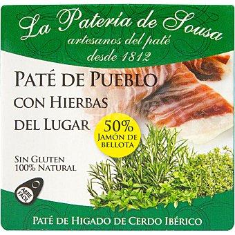 LA PATERIA DE SOUSA Paté de cerdo ibérico origen bellota Estuche 70 g