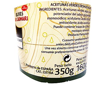 Caimari Aceituna Manzanilla Sin Hueso sabor Anchoa 350 Gramos