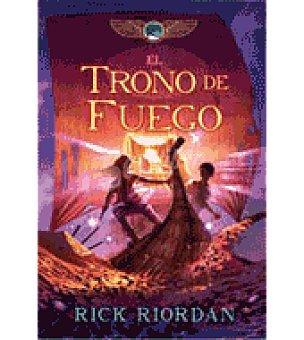 FUEGO Tronos de . las cronicas de kane 2 (rick Riordan)
