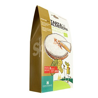 Porto Muiños Tarta de almendra ecológica 450 g