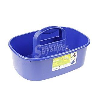 Cesta Para útiles de limpieza Azul 1 ud
