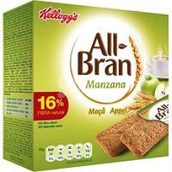 Kellogg's All bran All Bran Barrita Manzana Pack de 6x40 g