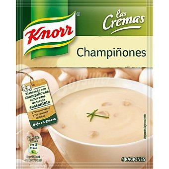 KNORR LAS CREMAS Crema de champiñón Sobre 65 g
