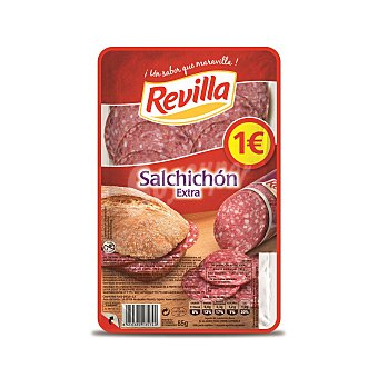 Revilla Salchichón tradicional lonchas Sobre 85 g