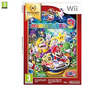 MINIJUEGOS Videojuego Mario Party 9 Edición Selects para Wii Género: Plataformas Recomendación por edad pegi: +3 - 1 Unidad 1u