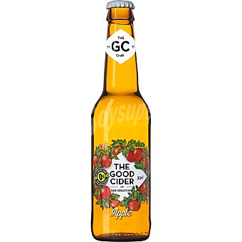 The Good Cider Sidra de manzana sin alcohol tipo Cider botella 33 cl botella 33 cl