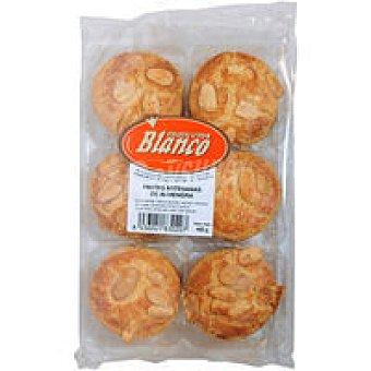 PRODUCTOS BLANCO Pasta de almendra Bandeja 400 g