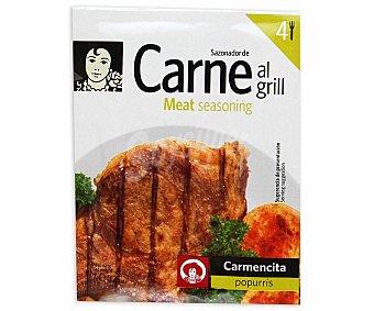 Carmencita Sazonador carne al grill 7 grs