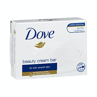 Dove Pastilla de jabón de tocador con crema hidratante beauty Pieza 100 g