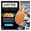 Salmón ahumado de noruega 100 g Labeyrie