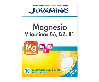 Juvamine Magnesio + Vitamina B6 fizz 71 gr