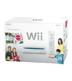 Nintendo Consola blanca + wii party+sport wii