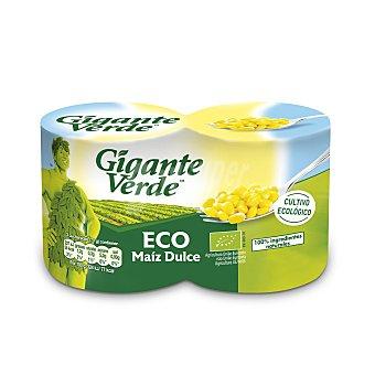 Gigante Verde Maíz ecológico Pack 2x140 g