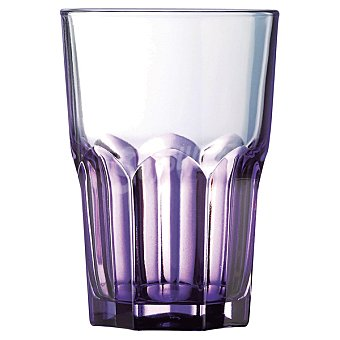 LUMINARC Cracy Colors Vaso en color morado  40 cl