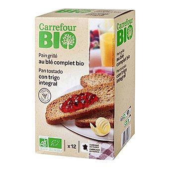 Carrefour Bio Pan tostado con trigo integral ecológico 250 g