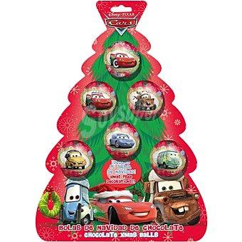 DEKORA CARS bolas de árbol de Navidad de chocolate  unidad 75 g