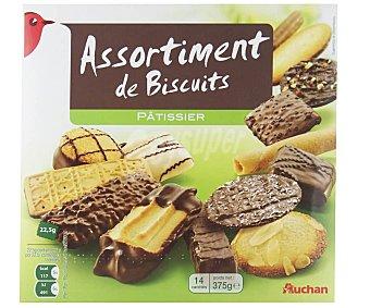 Auchan Surtido de galletas 375 gr