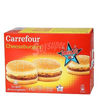 Carrefour Cheeseburguers 780 g