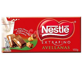 Extrafino Nestlé Chocolate con leche-avellanas Tableta 150 g