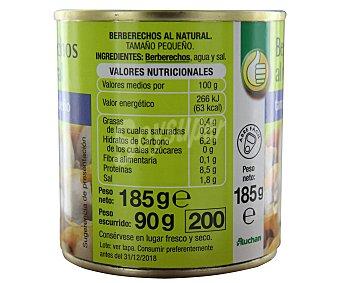 Productos Económicos Alcampo Berberechos al natural tamaño pequeño 90 gramos peso escurrido