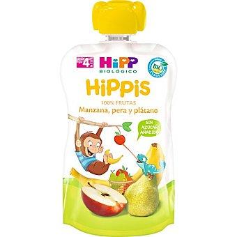 HiPP Biológico Manzana, pera y plátano bio pouch Envase 100 g