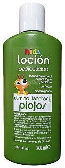 Deliplus Locion cabello antiparasitos kids (elimina liendres y piojos) Botella 200 cc